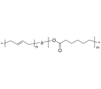 PBd-PCL 二嵌段共聚物 聚(1,2-丁二烯)-聚己内酯 Poly(1,2-butadiene)-b-poly(ε-caprolactone)