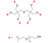 Polymer Source 6臂星形-聚乙二醇-羟基 6-Arm PEG-OH | Poly(ethylene oxide), hydroxy-terminated 6-arm polymer