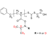 d7PNIPAM-OH 氘化聚(N-异丙基丙烯酰胺-d7), ω-羟基 Deuterated Poly(N-isopropyl acrylamide-d7), ω-hydroxy-terminated