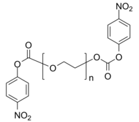 PEG-2NPC 聚乙二醇-双(对硝基苯碳酸酯) Poly(ethylene glycol), α,ω-bis(para-nitrophenyl carbonate)-terminated