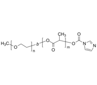 mPEG-PLA-IM/ID 聚乙二醇-聚乳酸(聚丙交酯)-咪唑基 两亲性二嵌段 Poly(ethylene oxide)-b-poly(lactide), ω-imidazole-terminate