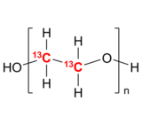 13C-PEO-2OH 碳13标记聚乙二醇 13C-PEG-2OH | Poly(ethylene oxide), 13C-labelled