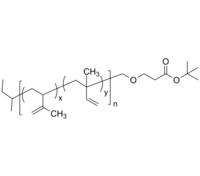 PIP-COOtBu 聚(1,2-异戊二烯-co-3,4-异戊二烯)-叔丁酯 Poly(1,2-isoprene-co-3,4-isoprene), ω-(tert-butyl ester)-term
