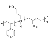 PS-OH-PIP 聚苯乙烯-羟基-聚(1,4-异戊二烯) Poly(styrene)-b-poly(1,4-isoprene), with carbinol group