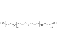 HO-PEG-OH 羟基-聚乙二醇-羟基 链中间为二硫键 Poly(ethylene glycol), with disulfide group in center of polymer chain