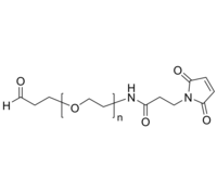 maleimido-PEG-CHO 马来酰亚胺-聚乙二醇-醛基 Poly(ethylene glycol), (α-formyl, ω-maleimido)-terminated