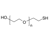 HO-PEG-SH 羟基-聚乙二醇-硫醇 Poly(ethylene glycol), (α-hydroxy, ω-thiol)-terminated