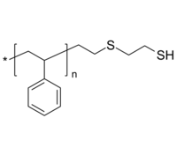 PS-SH | Poly(styrene), ω-thiol (via thioethane group)-terminated | 定制合成 | 聚苯乙烯-硫醇