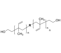 PIP-2OH 聚(1,2-异戊二烯-co-3,4-异戊二烯)-双羟基 Poly(1,2-isoprene-co-3,4-isoprene), α,ω-bis(hydroxy)-terminated