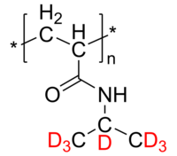 d7PNIPAM 氘化聚(N-异丙基丙烯酰胺) Deuterated Poly(N-isopropyl acrylamide-d7)
