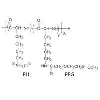 Creative PEGWorks 聚赖氨酸-聚乙二醇 接枝共聚物 PEG-g-PLL (Poly-L-lysine grafted with PEG) PEG化聚赖氨酸