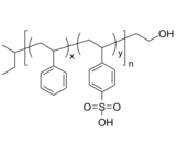 PSSA-OH 聚苯乙烯共苯乙烯磺酸-羟基 Poly(styrene-co-4-styrene sulfonic acid), ω-hydroxy-terminated