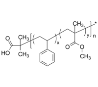 HO-PSMMAran-Br 羟基-聚苯乙烯共甲基丙烯酸甲酯-溴基 Poly(styrene-co-methyl methacrylate), (α-hydroxy, ω-bromo)-term