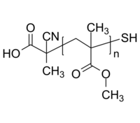 HOOC-PMMA-SH 羧基-聚甲基丙烯酸甲酯-硫醇 Poly(methyl methacrylate), (α-carboxy, ω-thiol)-terminated