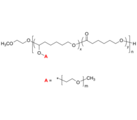 PCL-g-PEO/PCL-g-PEG 接枝共聚物 聚己内酯-聚乙二醇 Poly(ε-caprolactone)-graft-poly(ethylene oxide)