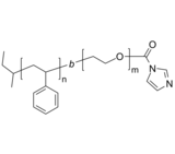 PS-PEO-ID/PS-PEG-ID 聚苯乙烯-聚乙二醇-羰基咪唑 Poly(styrene)-b-poly(ethylene oxide), ω-(carbonyl imidazole)-term