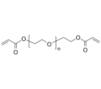 PEG-2Acrylate/PEG-2AC 聚乙二醇-双丙烯酸酯 末端双键 Poly(ethylene glycol), α,ω-bis(acrylate)-terminated