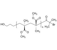 HO-PMMA-Br 羟基-聚甲基丙烯酸甲酯-溴基 间规 Poly(methyl methacrylate), (α-hydroxy, ω-bromo)-terminated; - syndiotac