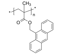 PAnMMA 荧光高分子聚合物 聚(甲基丙烯酸-9-蒽基甲酯) Poly(anthacen-9-ylmethyl methacrylate)