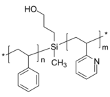 PS-SiOH-P2VP 聚苯乙烯-羟基-聚(2-乙烯基吡啶) Poly(styrene)-b-poly(2-vinyl pyridine), with hydroxy group