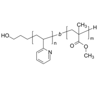 HO-P2VP-PMMA 羟基-聚(2-乙烯基吡啶)-聚甲基丙烯酸甲酯 Poly(2-vinyl pyridine)-b-poly(methyl methacrylate), α-hydroxy