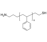NH2-PS-SH | Poly(styrene), (α-amino, ω-thiol)-terminated | 氨基-聚苯乙烯-硫醇 | 功能化端基修饰