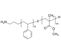 NH2-PS-PMMA 氨基-聚苯乙烯-聚甲基丙烯酸甲酯 Poly(styrene)-b-poly(methyl methacrylate), α-amino-terminated