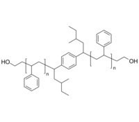Polymer Source 聚苯乙烯-双羟基 HO-PS-OH | Poly(styrene), α,ω-bis(hydroxy)-terminated, with dialkyl-benzene