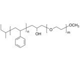 PS-OH-PEG-OCH3 聚苯乙烯-羟基-聚乙二醇-甲氧基 Poly(styrene)-b-poly(ethylene oxide), with hydroxymethylene at the b