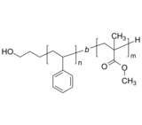 HO-PS-PMMA 羟基-聚苯乙烯-聚甲基丙烯酸甲酯 Poly(styrene)-b-poly(methyl methacrylate), α-hydroxy-terminated