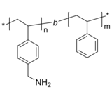 P4AMS-PS 两亲性二嵌段共聚物 聚(4-氨基甲基苯乙烯)-聚苯乙烯 Poly(4-aminomethyl styrene)-b-Poly(styrene)