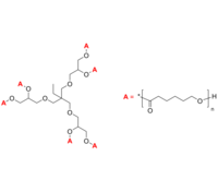 6-Arm PCL 6臂星形-聚己内酯 Poly(ε-caprolactone), 6-arm star polymer / Core: trimethylolpropane ethoxylate