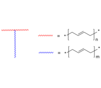 T-type PBd 3臂T形-聚丁二烯 T-type copolymer: Poly(butadiene), 3 arms