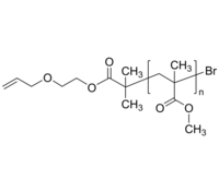 PMMA-allyloxy 聚甲基丙烯酸甲酯-烯丙氧基 末端双键 Poly(methyl methacrylate), α-allyloxy-terminated