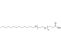 Tridecanol-PEG-COOH 十三醚-聚乙二醇-丙酸 Poly(ethylene glycol), (α-tridecyl, ω-carboxy [propionic acid])-term