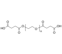 PEG-2COOH/PEG-2SA 聚乙二醇-双羧基(丁二酸) Poly(ethylene glycol), α,ω-bis(carboxy [succinic acid])-terminated