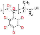 dPS-SH 氘化聚苯乙烯-d8, ω-硫醇 Deuterated Poly(styrene-d8), ω-thiol-terminated