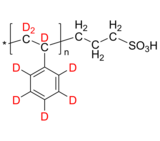 dPS-SO3H 氘化聚苯乙烯-d8, ω-磺酸 Deuterated Poly(styrene-d8), ω-(sulfonic acid)-terminated